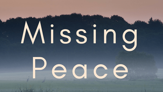 missing peace title graphic