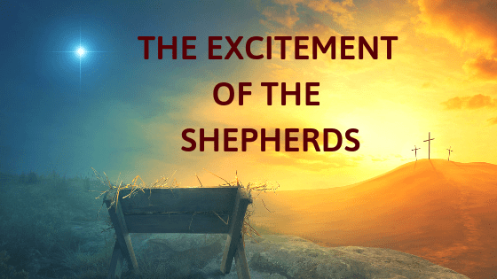 excitement of the shepherds title graphic