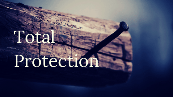 Total protection title graphic