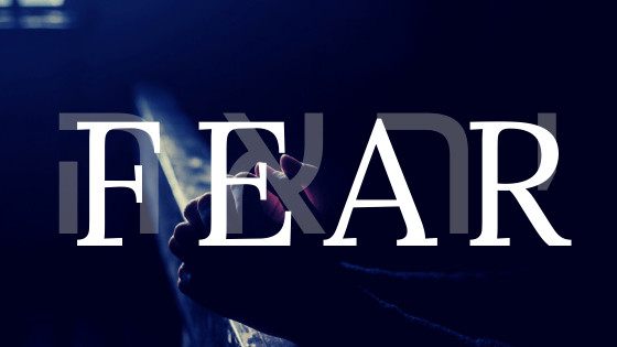 fear title graphic