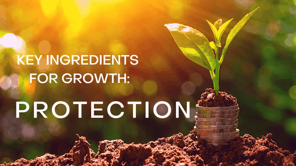 Key Ingredients for Growth Protection title graphic