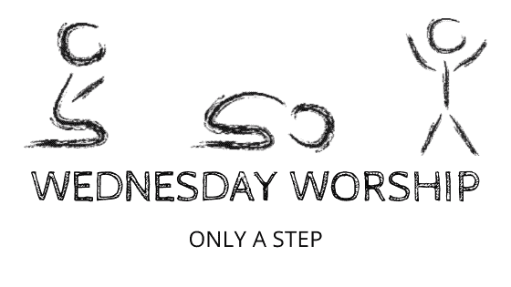 Only a Step title graphic