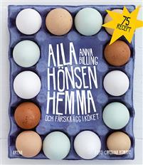 Alla hönsen hemma och färska ägg i köket Bokomslag