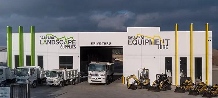Ballarat Landscape Supplies storefront