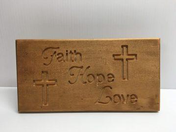 Faith Hope Love front $20