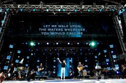 Hillsong United live on stage