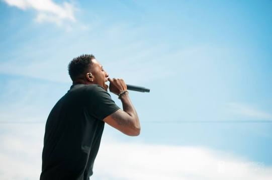 Lecrae at the Together 2016 gathering on the National Mall in Washington, D.C.