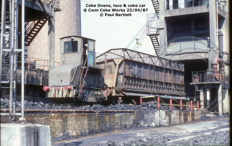 Paul Bartlett S Photographs Cwm Coke Works Coke Locos