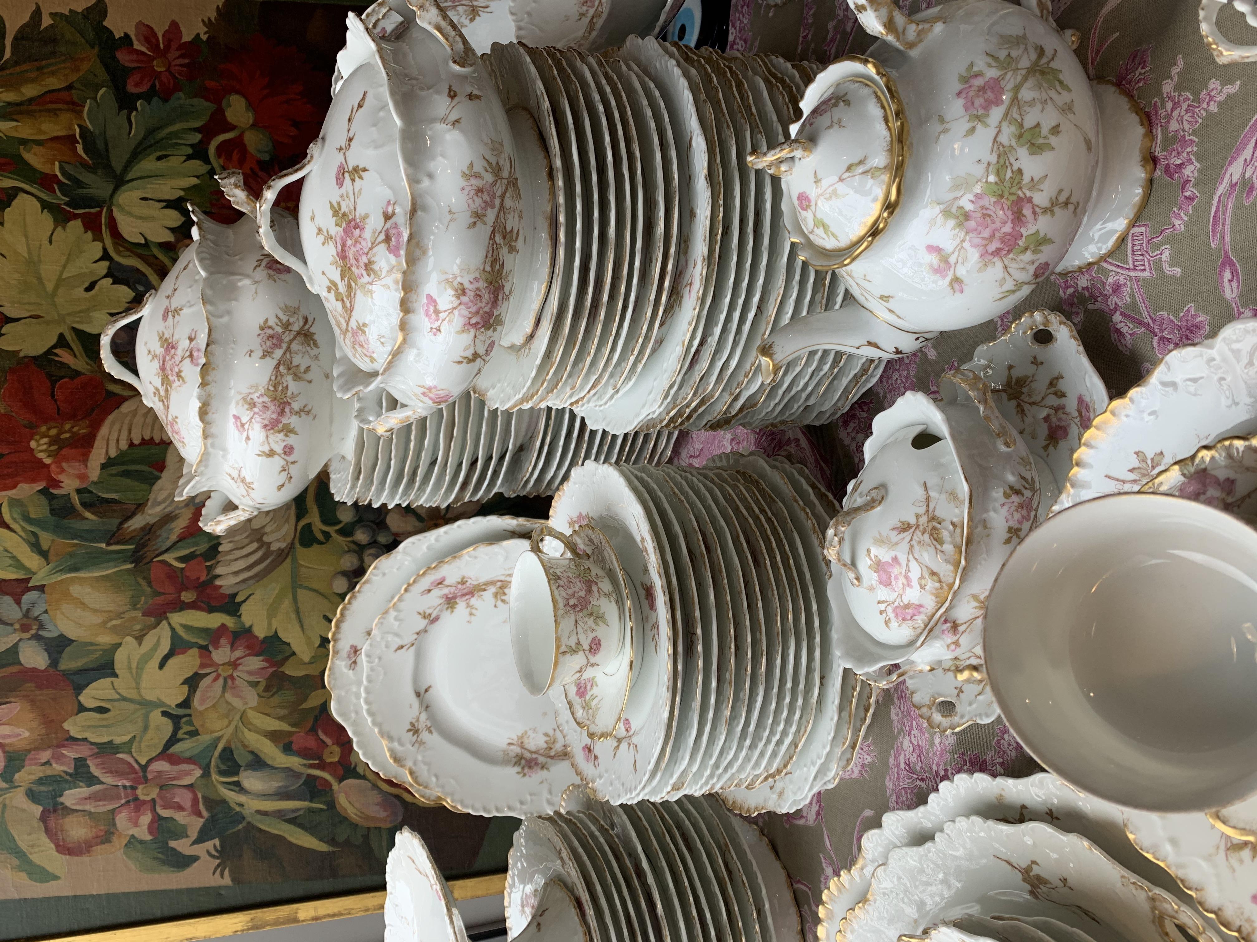 Prix D Un Service En Porcelaine De Limoges : service, porcelaine, limoges, Service, Porcelaine, Limoges, Serpette
