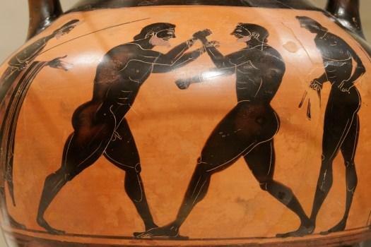 Ancient Greek Boxers