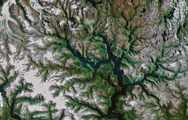 Google Earth Fractals