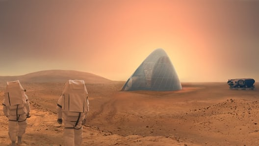 Habitats for the first astronauts to Mars could be 3D printed, by extracting and refining metals ...