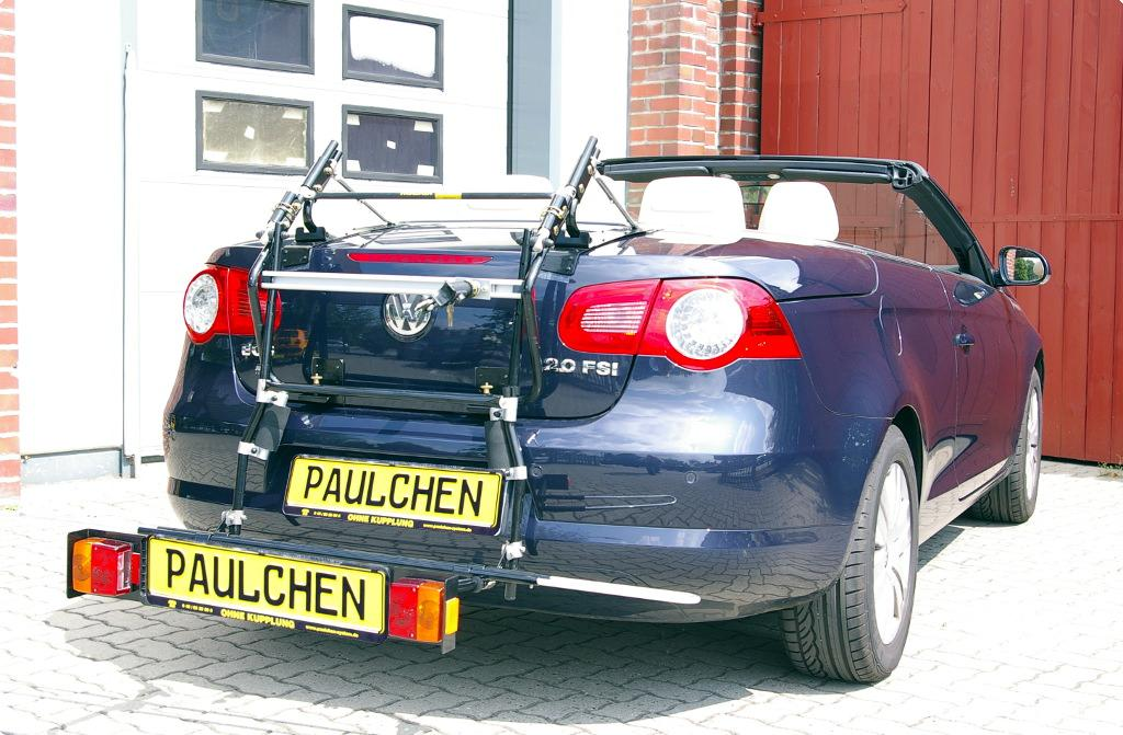 bicycle carrier for vw eos 1f