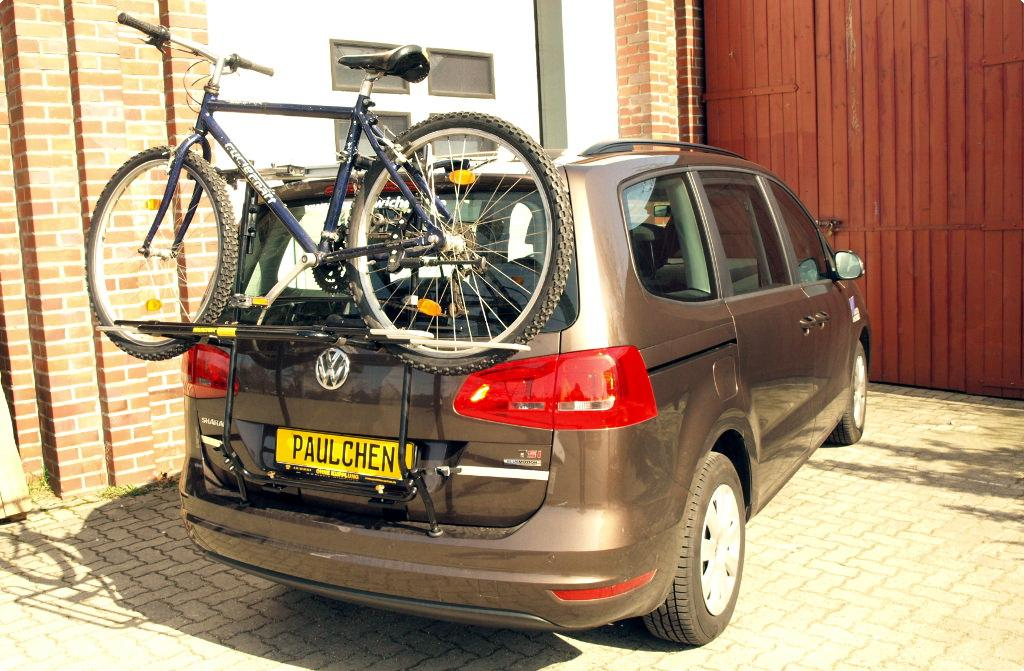 bicycle carrier for vw sharan 7n