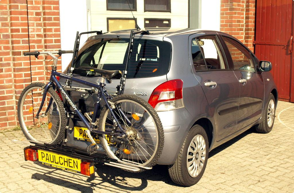 bicycle carrier for toyota yaris xp9
