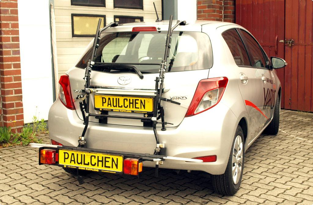 bicycle carrier for toyota yaris xp13