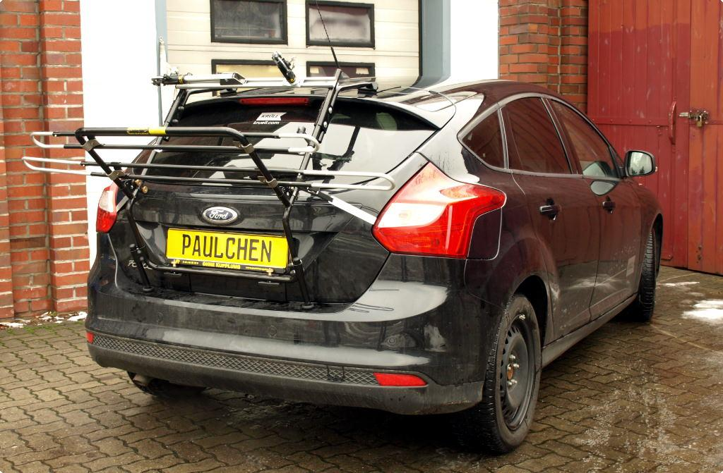 bicycle carrier for ford focus iii