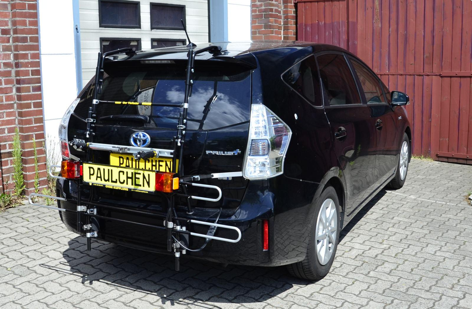 bicycle carrier for toyota prius plus