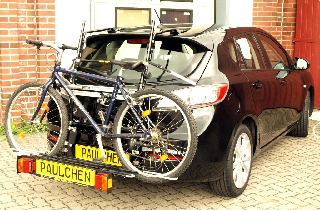 bicycle carrier for mazda 3 bl