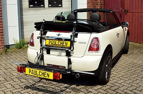 bike rack for mini paulchen
