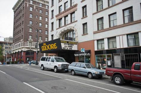 NOW: One hundred and one years later, the Moore is one of the few surviving buildings by the famed early-20th-century theater architect Edwin W. Houghton.
