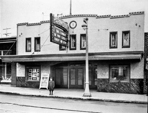An early incarnation: The Paramount on 45th