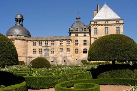 The chateau de Hauteforte