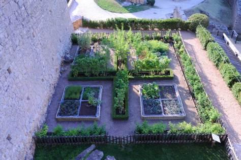 Castenaud's monastic garden