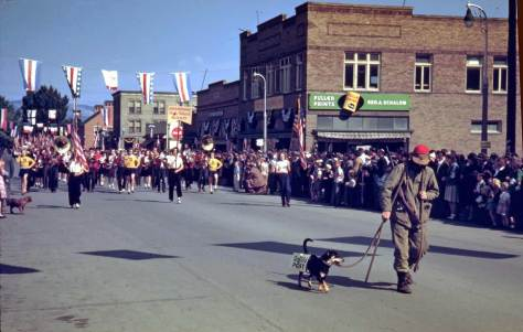 Okanagon parade with dog