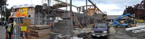 Recent construction at Wallingford QFC