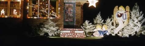 The festive Dunns lived at 4713 E. 47th in Laurelhurst.   Dec. 1954
