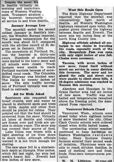 Flip side of the same clipping - 2/1/37