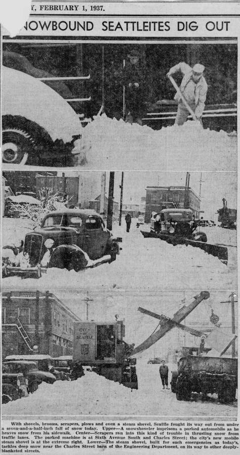 Feb. 1, 1937 clipping from unidentified Seattle paper - Times, P-I, or Star.