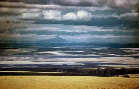 """The Palouse Country"" - the state's bread basket."