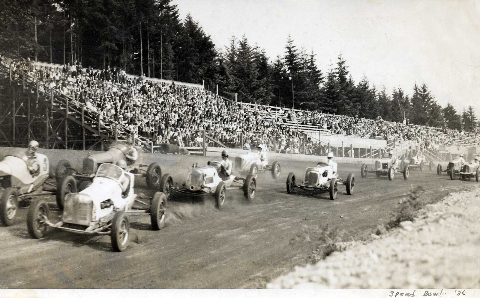 Seattle Now & Then: The Seattle Speed Bowl