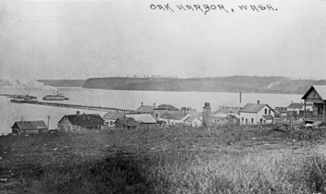 """The depression-time WPA writer's guide to Washington State a shipyard was the harbor's first industry.  """"The schooner Growler, named for its complaining builders, was launched here in 1859  and became one of the best-known boats on Puget Sound in pioneer days."""