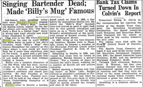 Herman Butzke's Oct. 3, 1930 obit in the Seattle Times.