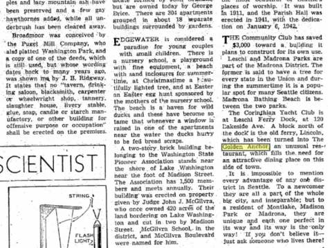 Excerpt from Times feature, March 10, 1946.