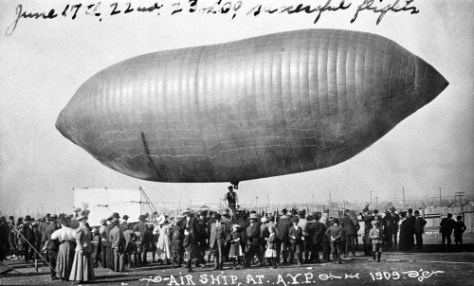 "AYP also had an ""airship."" Not ""captured"" it required some skilled piloting."