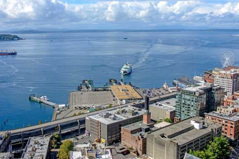 Jean's recent recording continues north in feature what has become the Dept. of Transportation's sprawl to both sides of Colman Dock for its ferries.