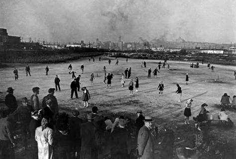 When I started asking question about local history in the early 1970s it was not commonplace but neither was it rare to be told first-hand accounts of ice skating on what remained of the tideflats.