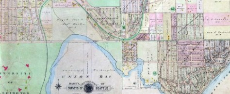 The Environs from the 1912 Baist Real Estate Map (Courtesy, Ron Edge)