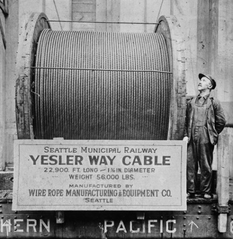 A fresh cable