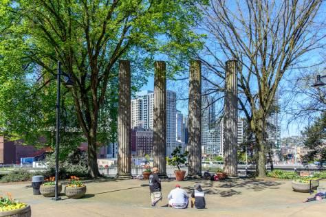 The columns, 2014