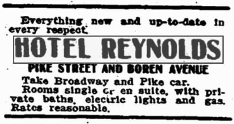 A Seattle Times clipping from June 20, 1909.