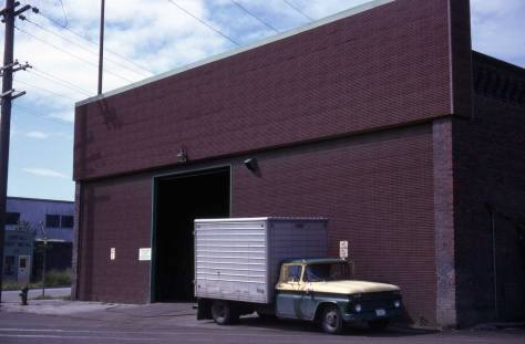 Lawton Gowey's May 27, 1968 recording of the barn when it was still used for storage.