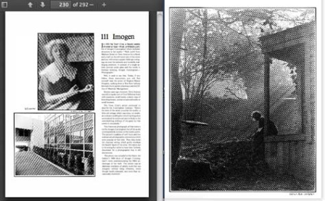 Before their was a Virginia Mason Hospital there was photographer Imogen Cunningham's home and studio.