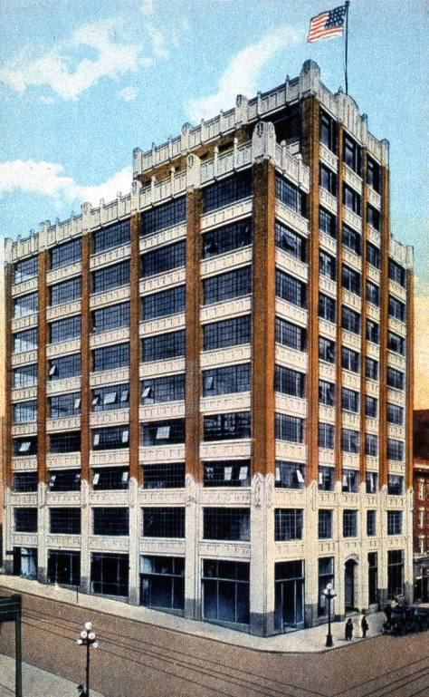 Since 1923 Seattle architect Henry W. Bittman's Terminal Sales Building has held the southeast corner of First Avenue and Virginia Street.