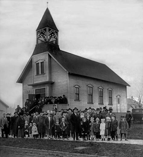 The Finish-Evangelical Church at 1709, NW 65th Street.  This too is from the Swedish Club album.