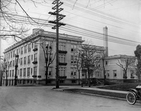 The Swedish Hosptial ca. 1920 by Lin